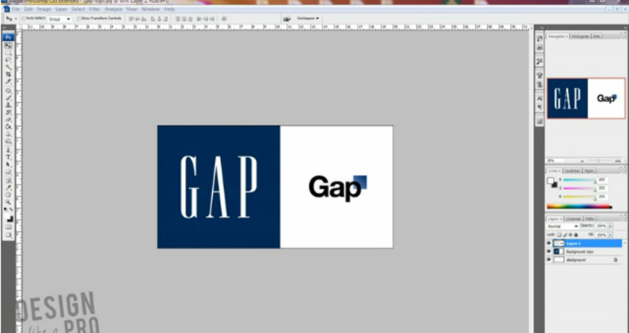 Design Reviews the New Gap Logo