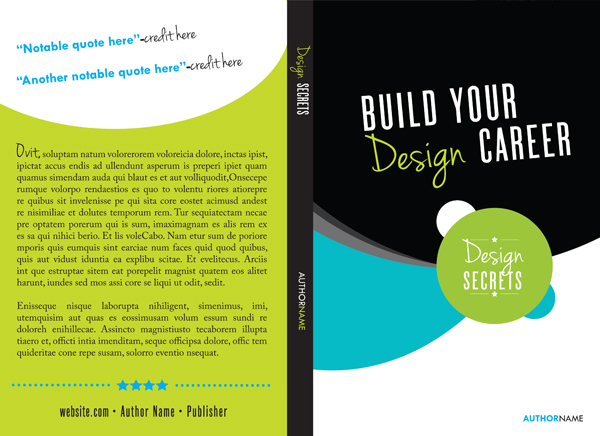 Book Cover Design Indesign Tutorial : How to create a book template in indesign learn